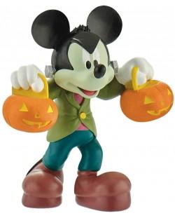 Фигурка Bullyland Mickey Mouse & Friends - Мики Маус, с костюм за Хелоуин