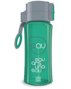 Бутилка за вода Ars Una -  Зелена, 450 ml