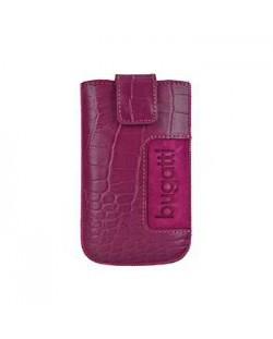 Bugatti SlimCase Croco Leather Case ML за iPhone 5 -  розов