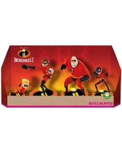 Комплект фигурки Bullyland Incredibles 2 - 5 броя