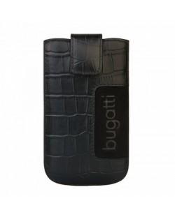 Bugatti SlimCase Croco Leather Case ML за iPhone 5 -  черен