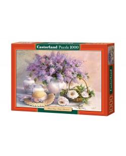 Пъзел Castorland от 1000 части - Деня на цветята, Триша Хардуик