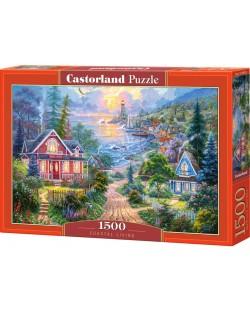 Пъзел Castorland от 1500 части - Крайбрежен живот