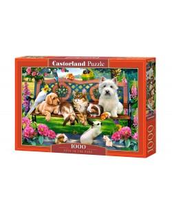 Пъзел Castorland от 1000 части - Домашни любимци в парка, Хауърд Робинсън