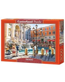 Пъзел Castorland от 3000 части - Фонтан ди Треви