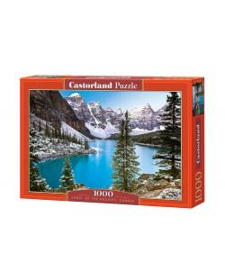Пъзел Castorland от 1000 части - Езеро в Канада
