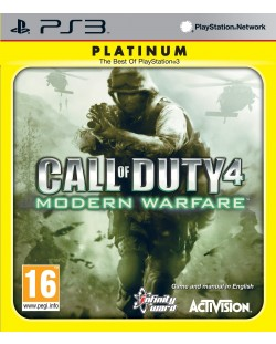 Call of Duty 4: Modern Warfare - Platinum (PS3)