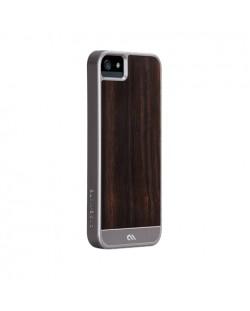 Калъф CaseMate Wood Rosewood за iPhone 5