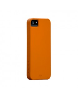 Калъф CaseMate Barely There за iPhone 5, Iphone 5s -  оранжев