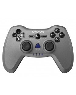 Контролер CANYON 3in1 wireless gamepad, transmission distance up to 10m