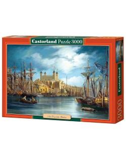 Пъзел Castorland от 3000 части - Зазоряване на пристанището