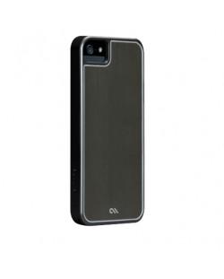 CaseMate Brushed Aluminium за iPhone 5 -  сив