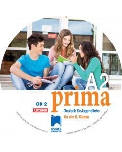 CD2 PRIMA A2. Аудиодиск №2 по немски език за 8. клас. Учебна програма 2018/2019 (Просвета)