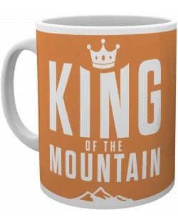 Чаша GB Eye Cycling - King of the Mountain, 300 ml