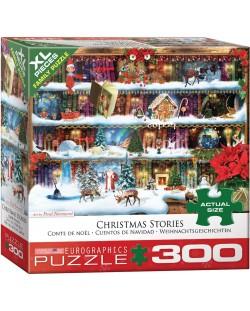 Пъзел Eurographics от 300 XL части - Коледни приказки, Пол Норман