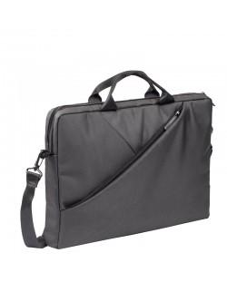 """Чанта за лаптоп Rivacase 8730 15.6"""" - сива"""