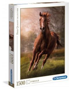 Пъзел Clementoni от 1500 части - Конят