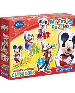 Пъзел Clementoni 4 в 1 - Клубът на Мики Маус