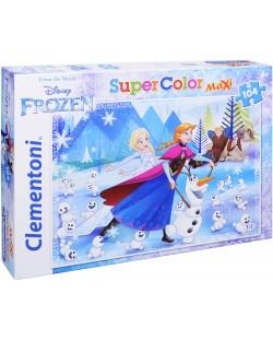 Пъзел Clementoni от 104 макси части - Замръзналото кралство