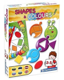 Детска игра Clementoni - Цветове и форми