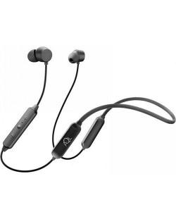 Безжични слушалки Cellularline Collar Flexible - черни