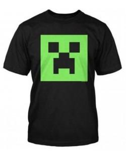 Тениска Jinx Minecraft - Creeper Glow