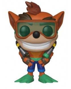 Фигура Funko Pop! Games: Crash Bandicoot - Crash With Scuba Gear , #421