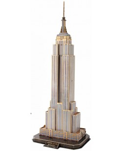 3D Пъзел Cubic Fun от 66 части - Empire State Building, New York