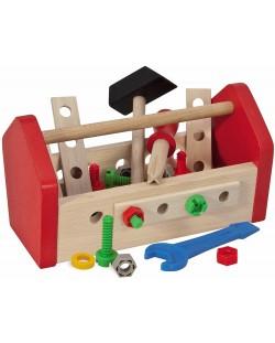 Дървен комплект Eichhorn - Кутия с инструменти