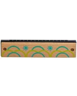 Детски музикален инструмент Lucy&Leo - Дървена хармоника