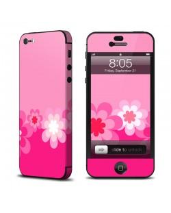 Калъф Decalgirl Retro Pink Flowers за iPhone 5