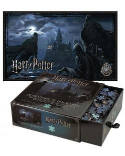 Панорамен пъзел Harry Potter  от 1000 части - Диментор Хогуартс