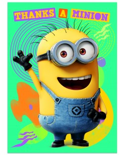 Поздравителна картичка Danilo - Despicable Me: Minion Thanks A Minion