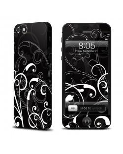 Decalgirl B&W Fleur за iPhone 5