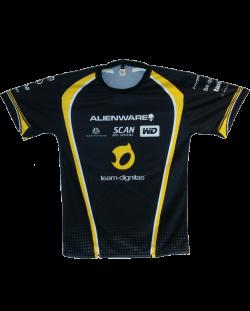 Тениска Dignitas Jersey, черна
