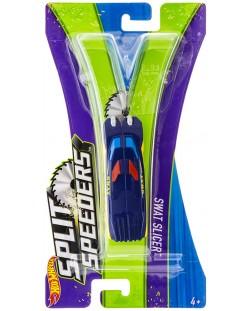 Количка Hot Wheels Split Speeders - Swat Slicer, разделяща се, с магнит