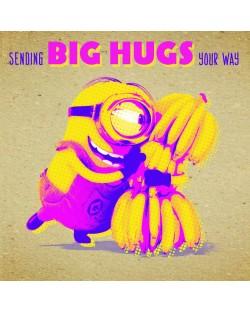 Поздравителна картичка Danilo - Crafty Minions: Big Hugs