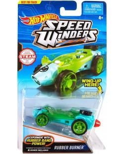 Количка Hot Wheels Speed Winders - Rubber Burner