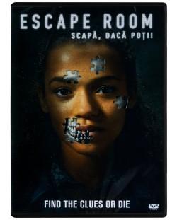 Escape Room: Играй или умри (DVD)