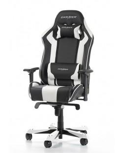 Геймърски стол DXRacer King, черен/бял - OH/KS06/NW