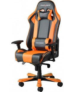 Геймърски стол DXRacer King - черен/оранжев (OH/KF06/NO)