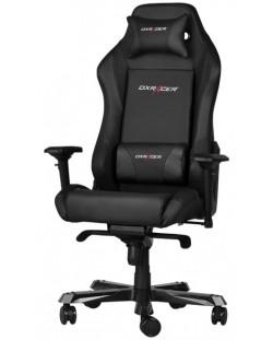 Геймърски стол DXRacer Iron - черен (OH/IF11/N)