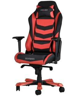 Геймърски стол DXRacer Iron - черен/червен (OH/IS166/NR)