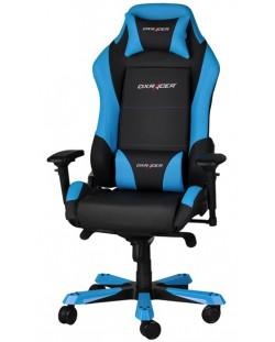 Геймърски стол DXRacer Iron - черен/син (OH/IF11/NB)