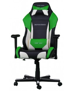 Геймърски стол DXRacer Drifting - черен/зелен/бял OH/DF61/NWE