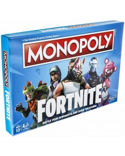 Настолна игра Hasbro Monopoly - Fortnite