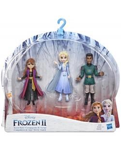 Комплект фигурки Hasbro Frozen 2 - Моменти от историята, Анна, Елза и Лейтанат Матиас