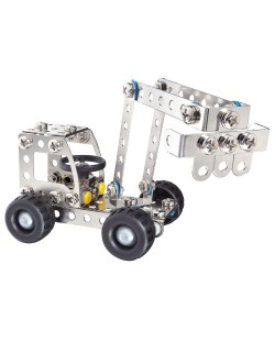 Метален конструктор Basic - Багер/ Камион от Eitech