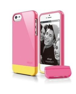 Калъф Elago S5 Glide за iPhone 5, Iphone 5s - тъмнорозов-