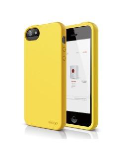 Калъф Elago S5 Flex за iPhone 5, Iphone 5s -  жълт
